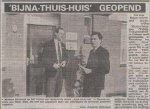 Opening hospice Nieuwkoop
